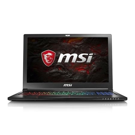 9S7-16K412-091 MSI GS63 7RD Core i7-7700HQ 8GB 1TB + 128GB SSD GeForce GTX 1050 2GB 15.6 Inch Windows 10 Gaming Laptop