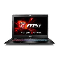 MSI GS72 6QE Core i7-6700HQ 16GB 1TB + 256GB SSD Geforce GTX 970M 17.3 Inch Windows 10 Gaming Laptop