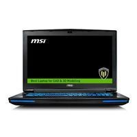 MSI WT72 6QL 615UK Core i7-6700HQ  16GB 1TB+128GB SSD Quadro M4000M DVD-RW 17.3 Inch Windows 10 Prof