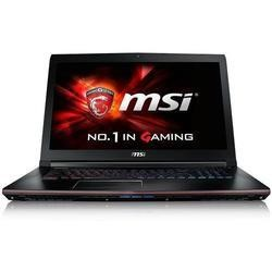 MSI GE72 6QD Apache Pro-460UK Core i7-6700HQ 8GB 1TB + 256GB SSD Nvidia GTX 960 2GB 17.3 Inch Windows 10 Gaming Laptop