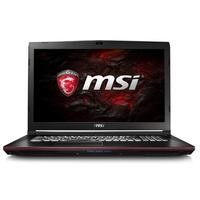 MSI GP72 Leopard Pro Core i7-7700HQ 16GB 1TB + 256GB SSD 17.3 Inch GeForce GTX 1050 Ti DVD-SM Windows 10 Gaming Laptop