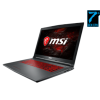 MSI GV72 7RD Core i7-7700HQ 8GB 1TB  GeForce GTX 1050 2GB 17.3 Inch Windows 10 Gaming Laptop