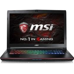 MSI Apache Pro GE72VR 6RF-054UK Core i7-6700HQ 8GB 1TB + 128GB SSD GeForce GTX 1060 6GB DVD-RW 17.3 Inch Windows 10 Gaming Laptop