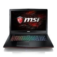MSI GE72MVR 7RG Core i7-7700HQ 16GB 1TB + 256GB SSD 17.3 Inch GeForce GTX 1070 8GB Windows 10 Gaming Laptop