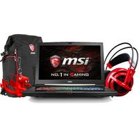 MSI Titan Pro GT73VR 6RF-220UK Core i7-6700HQ 16GB 1TB + 256GB SSD GeForce GTX 1080 8GB 17.3 Inch Windows 10 Gaming Laptop with Bag Headset and Dragon Keyring
