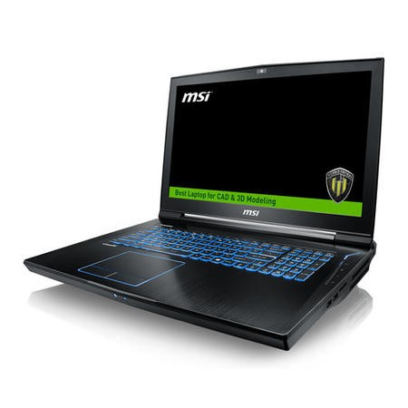 MSI WT73VR 7RM E3-1505M 16GB 1TB + 256GB SSD Quadro P5000 17.3 Inch Windows 10 Professional Laptop