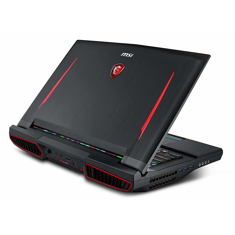 MSI GT75 Titan 8RG Core i9-8950HK 32GB 1TB + 512GB SSD GeForce GTX 1080  17 3 Inch Windows 10 Gaming Laptop