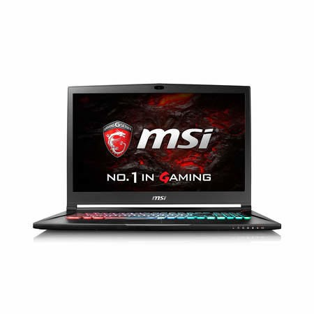 9S7-17B112-006 MSI Stealth Pro 4K GS73VR 6RF-006UK Core i7-6700HQ 16GB 2TB+256GB SSD GeForce GTX 1060 17.3 Inch Win