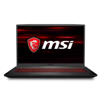 MSI GF75 Thin 9SD-023UK Core i7-9750 16GB 1TB HDD + 256GB SSD 17.3 Inch 120Hz HD GeForce GTX 1660 Ti Windows 10 Home Gaming Laptop
