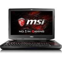 MSI Titan SLI GT83VR 6RF-072UK Core i7-6820HK 32GB 1TB + 512GB SSD GeForce GTX 1080 8GB DVD-RW 18.4 Inch Windows 10 Gaming Laptop with Accessories