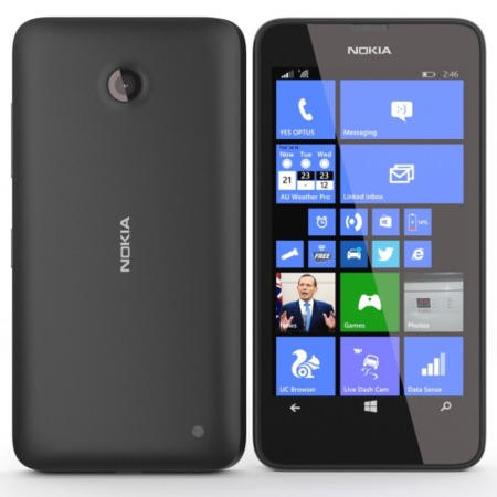 A00019126 Nokia Lumia 635 Sim Free Windows 8.1 Black Mobile Phone