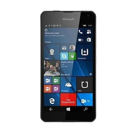 GRADE A1 - As new but box opened - LUMIA 650 5IN 16GB QC1.3 BLACK WIN10 IN