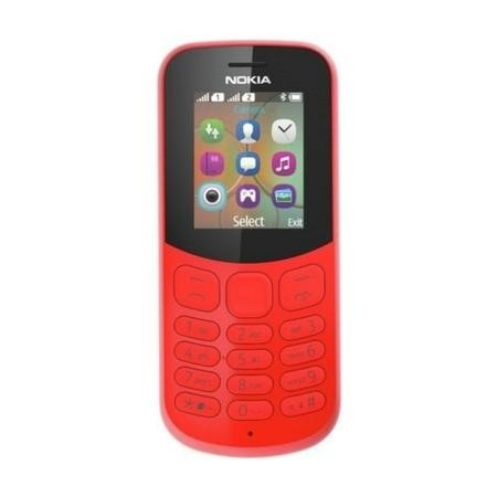 "A00028658 Nokia 130  Red 1.8"" 2G Unlocked & SIM Free"