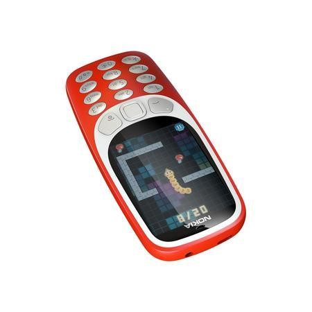 "Nokia 3310 3G Warm Red 2.4"" 128MB 3G Unlocked & SIM Free"