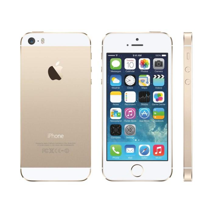 refurbished apple iphone 5s gold 4 16gb 4g unlocked sim. Black Bedroom Furniture Sets. Home Design Ideas