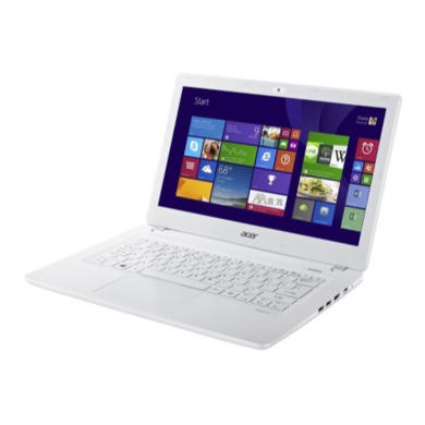 Refurbished Grade A1 Acer Aspire V3-371 Quad Core i5 6GB 120GB SSD 13.3 inch Full HD Windows 8 Laptop in White