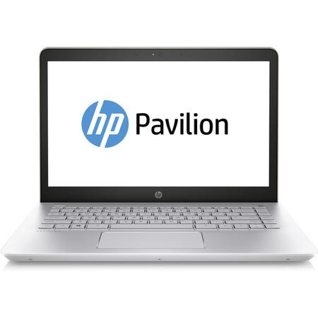 "A1/1VJ37EA Refurbished HP Pavilion 14-bk064sa 14"" Intel Core i5-7200U 8GB 128GB SSD Windows 10 Laptop in Silk Gold"