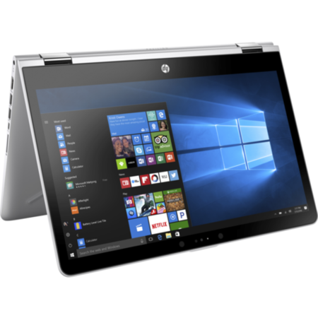 A1/1WQ20EA Refurbished HP Pavilion x360 14-ba091sa Intel Pentium 4415U 4GB 128GB 14 Inch Windows 10 Touchscreen Convertible Laptop