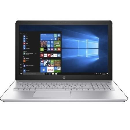 A1/2CN47EA Refurbished HP Pavilion Core i7-7500U 8GB 256GB GeForce 940MX 15.6 Inch Windows 10 Laptop in Silver