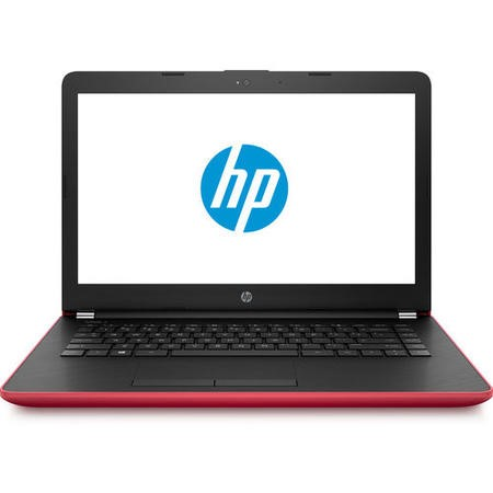 A2/2CQ55EA Refurbished HP 14-bs044na Intel Pentium N3710 4GB 128GB 14 Inch Windows 10 Laptop in Empress Red