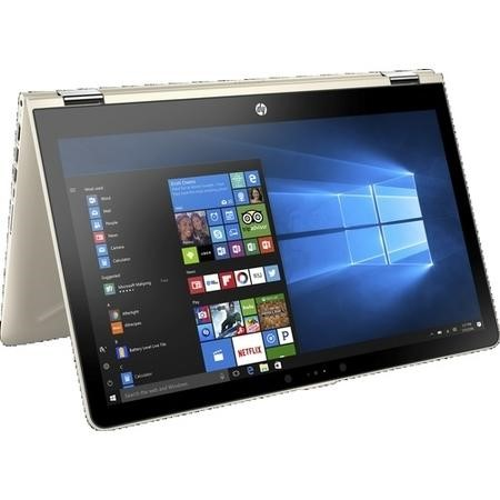 A2/2CQ60EA Refurbished HP 15-BR018NA x360 Intel Pentium 4415U 4GB 1TB 15.6 Inch Windows 10 Touchscreen Convertible Laptop in Gold