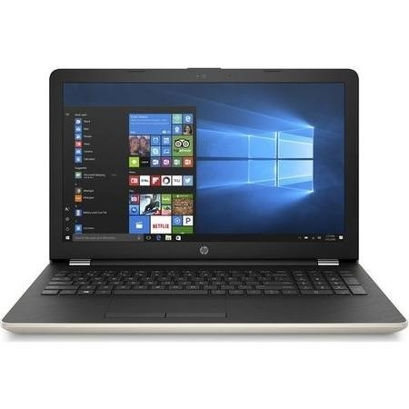 A1/2CU81EA Refurbished HP 15-bw066sa AMD A6-9220 4GB 1TB 15.6 Inch Windows 10 Laptop in Gold