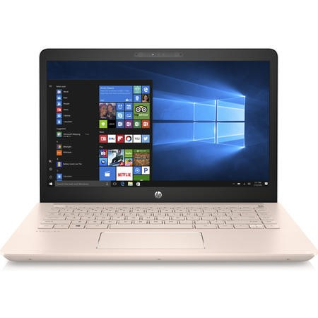 A1/2FN68EA Refurbished HP Pavilion 14-bk070sa Core i3-7100U 8GB 128GB 14 Inch Windows 10 laptop in White and Rose Gold