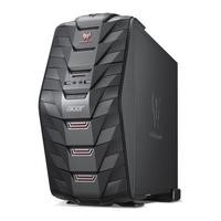 Refurbished Acer Predator G3-710 Core i5-6400 8GB 2TB NVIDIA GeForce GTX 1060 Windows 10 Gaming Desktop