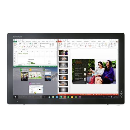 "A1/F0BM002PUK Refurbished Lenovo Yoga 900 27"" Intel Core i7-5500U 3GHz 8GB 1TB Hybrid  NVIDIA GeForce 940M 2GB Windows 10 All in One"