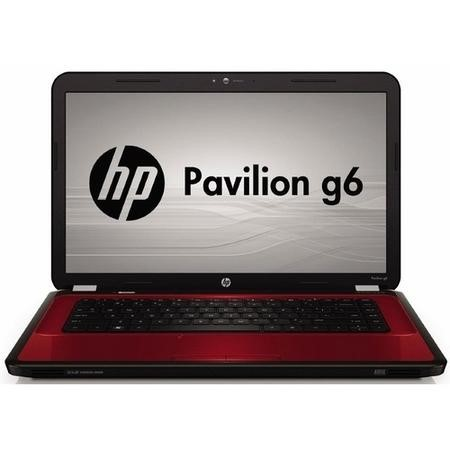 "A2/LZ523EA Refurbished HP Pavilion G 15.6"" Intel Core i3-m370 2.40GHz 4GB 750GB DVD-RW Windows 7 Laptop in Red"