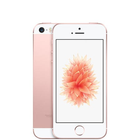 "A1/MLXN2B/A Refurbished Apple iPhone SE Rose Gold 4"" 16GB 4G SIM Free"