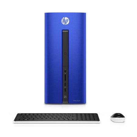 Refurbished HP Pavilion 550-201na Intel Core i5-6400 8GB 3TB 128GB SSD  Radeon R5 330 Graphics Windows 10 Desktop in Blue