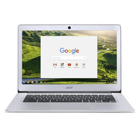 "A1/NX.GC2EK.001 Refurbished Acer CB3-431-C9WH 14"" Intel  Celeron N3060 1.6GHz 2GB 16GB SSD Chrome OS Chromebook in Silver"