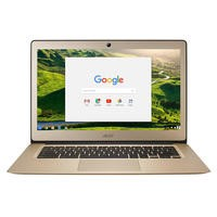 "Refurbished Acer CB3-431 14"" Intel Celeron N3160 4GB 32GB eMMC Chromebook in Gold"