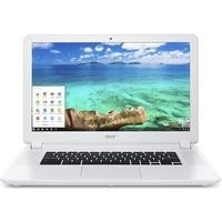 "Refurbished Acer CB5-571 15.6"" Intel Celeron 3205U 1.6GHz 4GB 32GB SSD Chrome OS Chromebook in White"