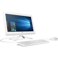 "Refurbished HP 22-B060na 22"" Intel Celeron J3060 1.6GHz 8GB 1TB Windows 10 All in One in White"