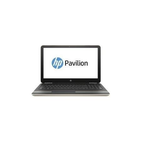 "A1/X7G61EA Refurbished HP Pavilion 15-au078na 15.6"" Intel Core i5-6200U 2.3GHz 8GB 256GB SSD DVD-SM Windows 10 Laptop in Gold"