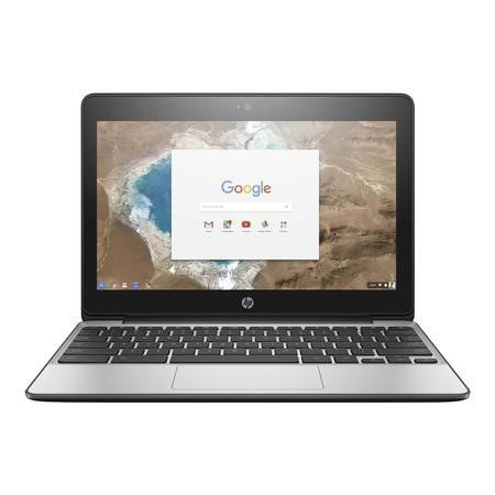 "A1/X9W43EA Refurbished HP Chromebook 11-v000na 11.6"" Intel Celeron N3060 2.48GHz 2GB 16GB Chrome OS Laptop"