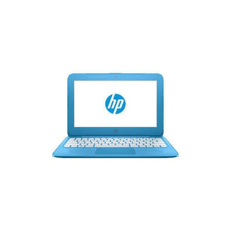 "A1/X9W59EA Refurbished HP Stream 11-y050na 11.6"" Intel Celeron N3060 1.6GHz 2GB 32GB SSD Windows 10 Laptop in Blue"