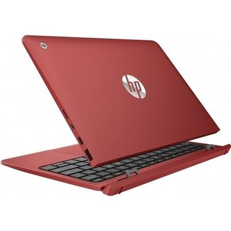 Refurbished HP 10-P007NA Intel  Atom X5-Z8350 2GB 32GB 10.1 Inch Windows 10 Touchscreen Convertible Laptop in Red
