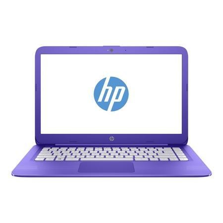 A1/Z3D81EA Refurbished HP Stream 14-ax002na Intel Celeron N3060 4GB 32GB 14 Inch Windows 10 Laptop in Purple