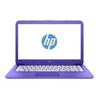 Refurbished HP Stream 14-ax002na Intel Celeron N3060 4GB 32GB 14 Inch Windows 10 Laptop in Purple