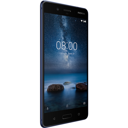 "Grade A Nokia 8 Tempered Blue 5.3"" 64GB 4G Unlocked & SIM Free"