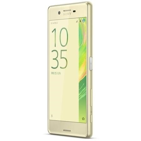 "Refurbished Sony Xperia X Lime Gold 5"" 32GB 4G Unlocked & SIM Free"