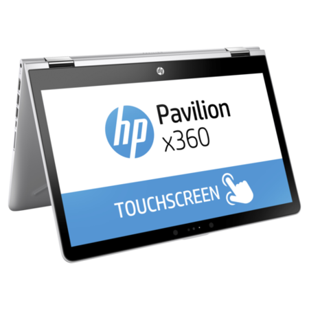 A1/1UJ15EA Refurbished HP Pavilion x360 14-ba055sa Core i3-7100U 8GB 128GB 14 Inch Windows 10 Touchscreen Convertible Laptop