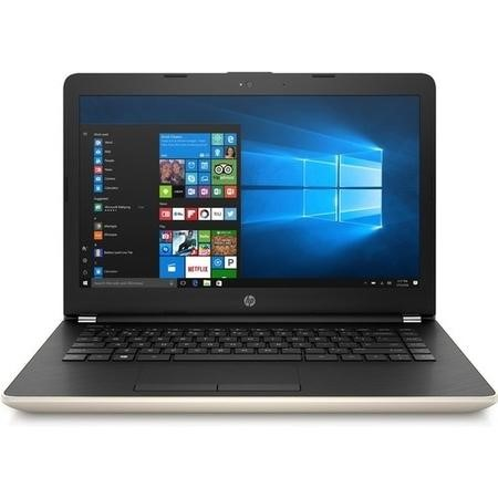 A1/2CQ56EA Refurbished HP 14-bs045na Intel Pentium N3710 4GB 128GB 14 Inch Windows 10 Laptop in Gold