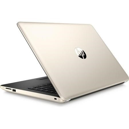 Refurbished HP 14-bs045na Intel Pentium N3710 4GB 128GB 14 Inch Windows 10 Laptop in Gold