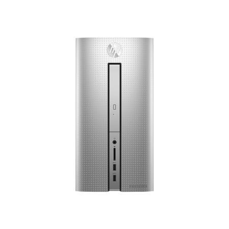 A1/2CY86EA Refurbished HP Pavilion 570-p552na Core i5-7400 8GB 1TB + 128GB SSD Windows 10 Desktop PC in Silver