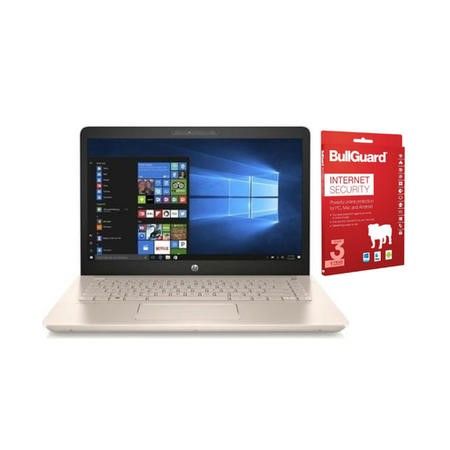 "A1/2FN66EA Refurbished HP Pavilion 14-bk069sa 14"" Intel Pentium 4GB 1TB Windows 10 Laptop in White and Rose Gold"