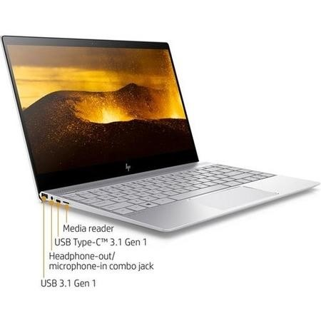 Refurbished HP ENVY 13-ad061na Core i7-7500U 8GB 1TB NVIDIA GeForce MX150 13.3 Inch Touchscreen Laptop
